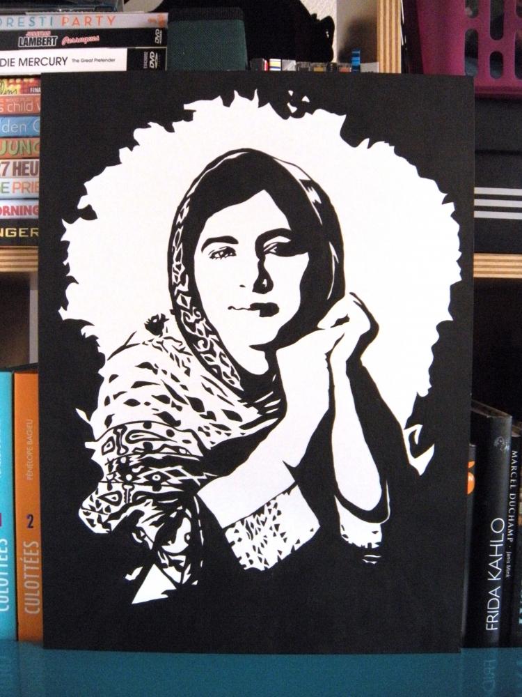 Malala Yousafzai by MasLauArt